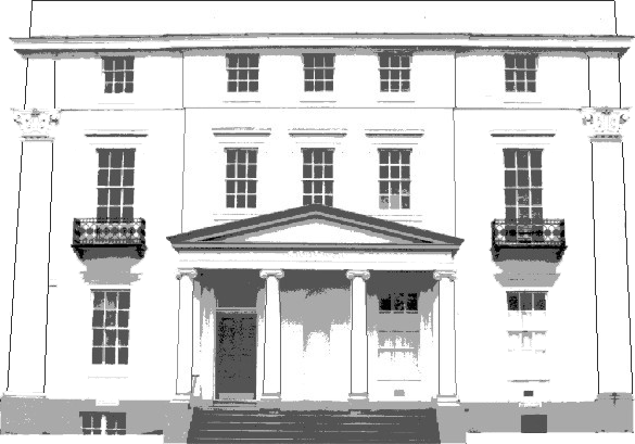 Victoria House line drawing