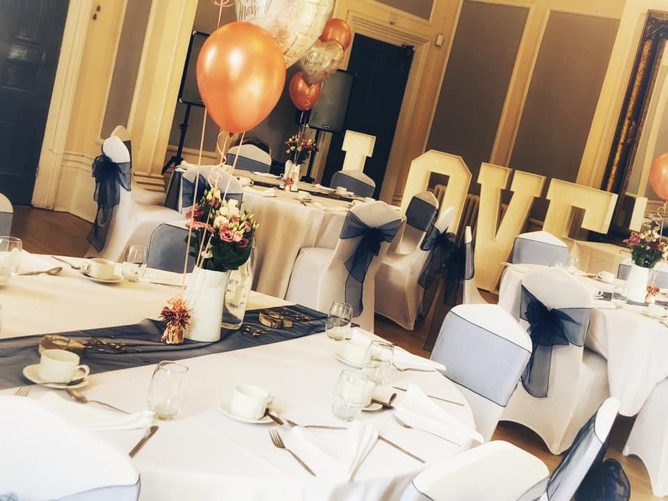 Celebrations and special occasions at Victoria House